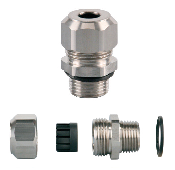 Heybrid Stainless Steel Liquid Tight Cordgrips Npt Hubs