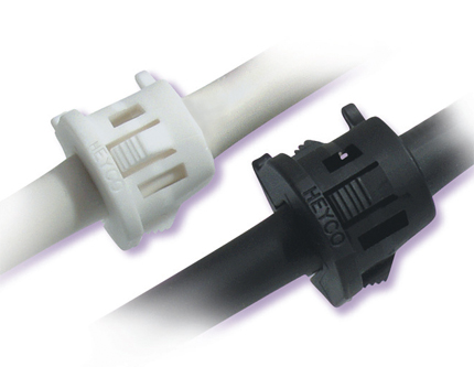 Push Pull Cables >> Heyco® RDD Lockit™ Strain Relief Bushings - Straight-Thru (Round Cables)