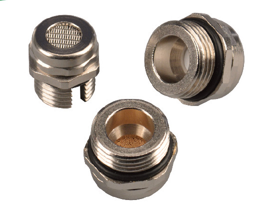 HEYClean Brass Pressure Equalization and Drain Plugs